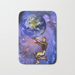 Atlas of the future Bath Mat