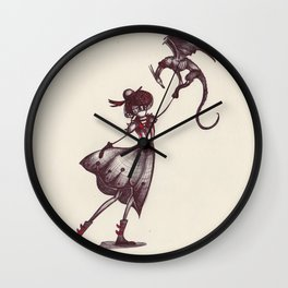 The Dragon Lady Wall Clock
