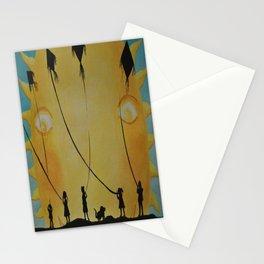 Papalotes (kites) Stationery Cards