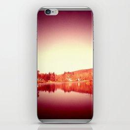 sunset moon. iPhone Skin