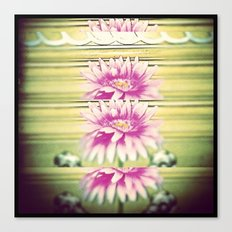 Flo-Flow-Flower  Canvas Print