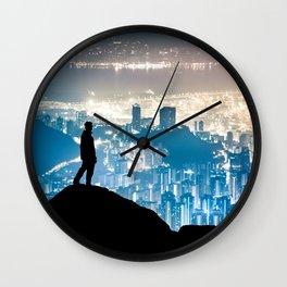City Watcher Wall Clock