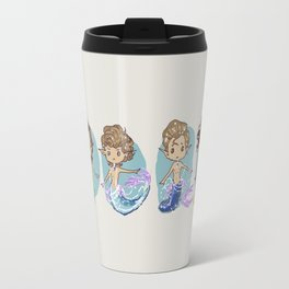 Button Mermen Travel Mug