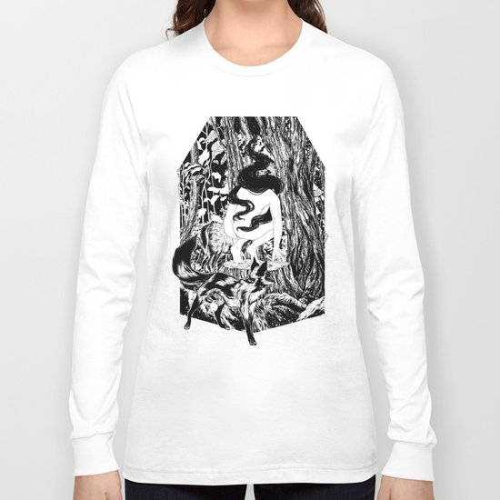 'The Erl King will do you grievous harm' Long Sleeve T-shirt