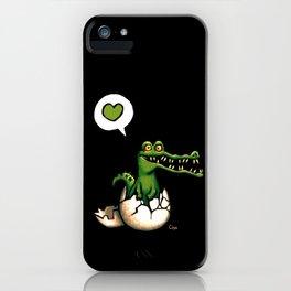 Cocodrilo iPhone Case