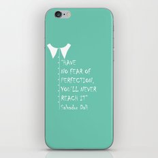 QUOTE-6 iPhone & iPod Skin