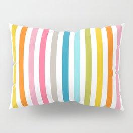 rainbow stripe Pillow Sham