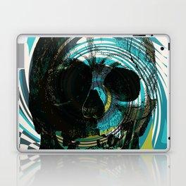 Pop Art Skull Retro 80's Laptop & iPad Skin