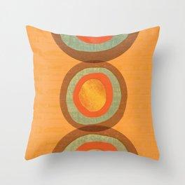 Simone's abstract target Throw Pillow