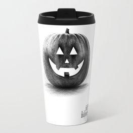 Halloween graffiti Travel Mug