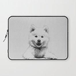 Minimalist Dog Laptop Sleeve