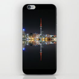 Auckland City at Night iPhone Skin