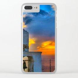 Santorini 9 Clear iPhone Case