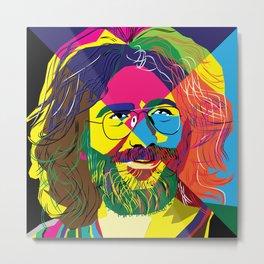 The Grateful colors Metal Print
