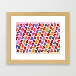 Trendsetter Framed Art Print