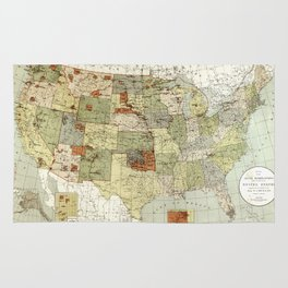 United States - Indian reservations - 1892 Rug