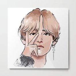 BTS Personal Metal Print