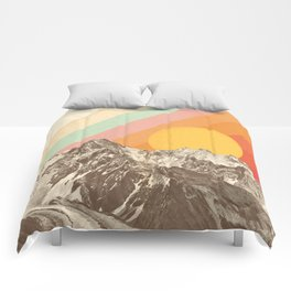 Mountainscape 1 Comforters