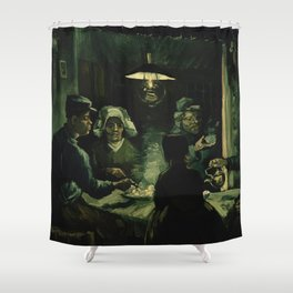 The Potato Eaters by Vincent van Gogh Shower Curtain