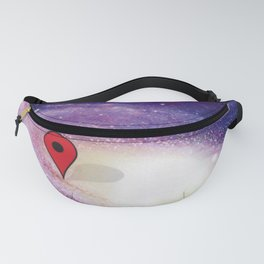 Somewhere, out there Fanny Pack