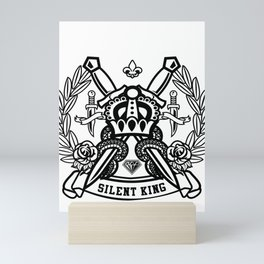 The Return Of The Silent King Mini Art Print