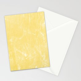 Flaxen Yellow Stationery Cards