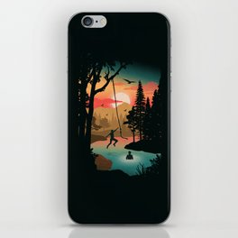 Swing Away iPhone Skin