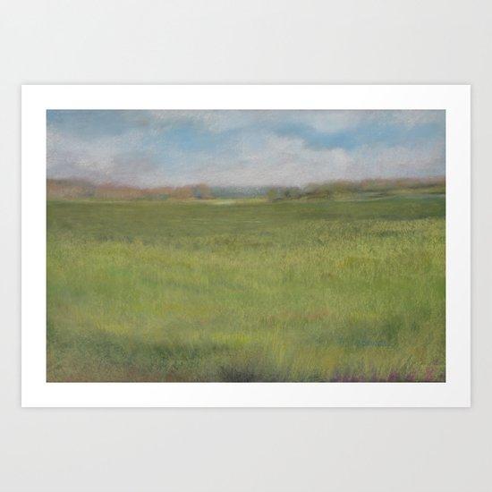 Myakka Prairie Art Print