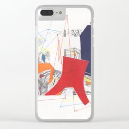 Geometric Skyescape 2 Clear iPhone Case