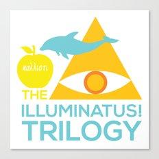 The Illuminatus! Trilogy Canvas Print