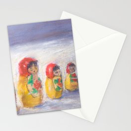 Mastroika Dolls Pastel Stationery Cards