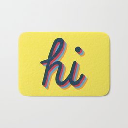 Hi - yellow version Bath Mat