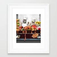 sloths Framed Art Prints featuring Sloths by Big AL