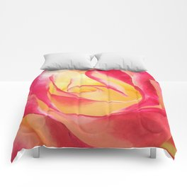 Summer Rose Untouched Comforters