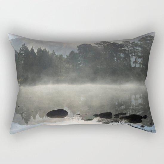In the pale blue light Rectangular Pillow