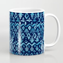 Mya Watercolor - Blue Coffee Mug