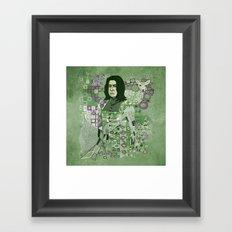 Portrait of a Potions Master Framed Art Print