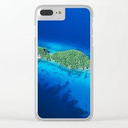 Romantic, Secret Island in Palau: Heaven's View Clear iPhone Case