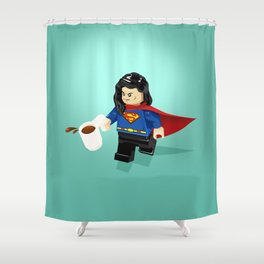 This is a Stick Up! Shower Curtain