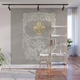 Fleur De Lis Wall Mural