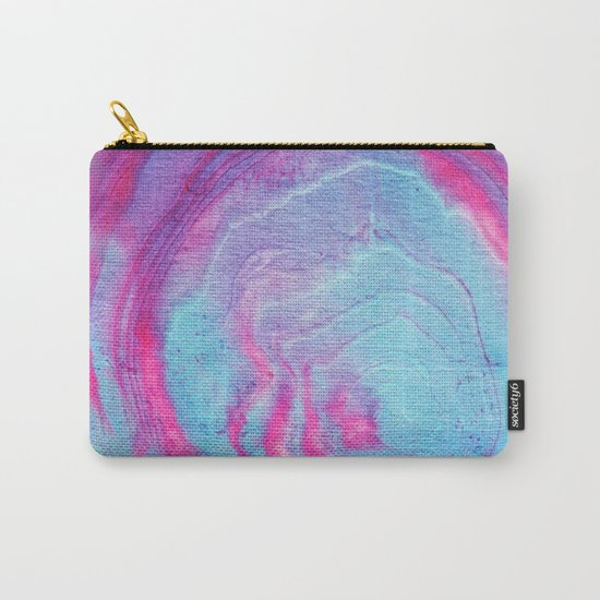 Vibrant marble Carry-All Pouch