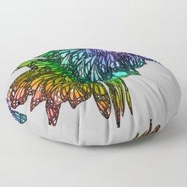 Rainbow Cluster Floor Pillow