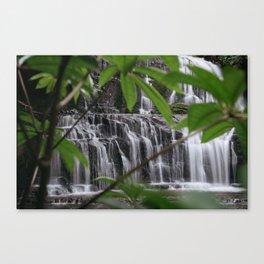 Purakaunui Falls Canvas Print