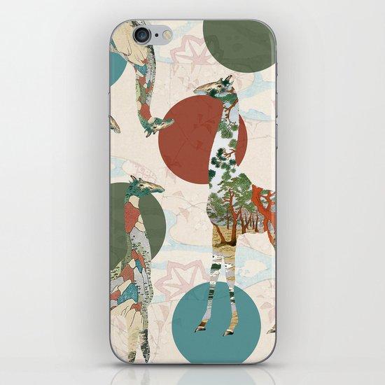 Giraffe Polka iPhone & iPod Skin