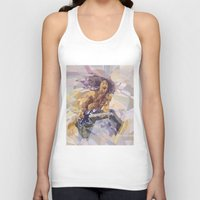 eddie vedder Tank Tops featuring Eddie Descending A Staircase by Dace Likethefish
