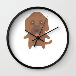 I Just Freaking Love Bloodhounds Wall Clock