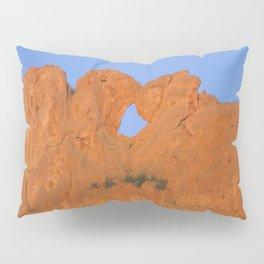 Kissing Camels Red Rocks Pillow Sham
