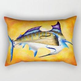 Marlinissos V1 - violinfish Rectangular Pillow