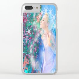 Spirit of Life Clear iPhone Case