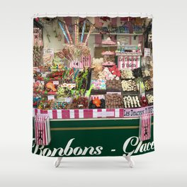 Candy Stand Shower Curtain